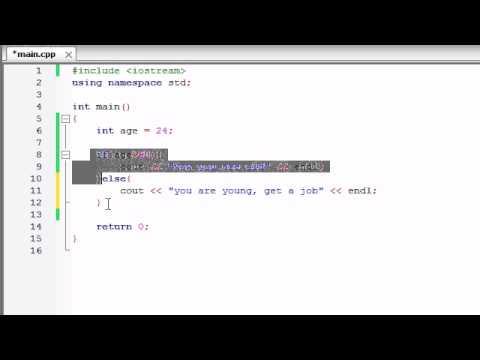 Buckys C++ Programlama Rehberler - 17 - Eğer / Else Deyimi