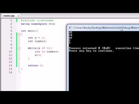 Buckys C++ Programlama Rehberler - 19 - Basit Bir Program Bir Döngü Kullanarak