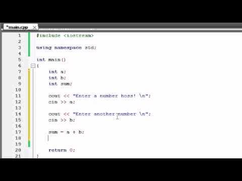 Buckys C++ Programlama Rehberler - 5 - Temel Bir Hesaplama Oluşturma