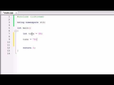 Buckys C++ Programlama Rehberler - 6 - Değişkenleri Bellek Kavramları