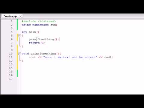 Buckys C++ Programlama Rehberler - 9 - İşlevleri