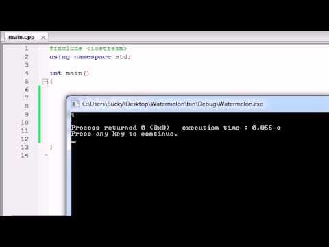 Buckys C++ Programlama Rehberler - 21 - Atama Ve Artış Operatörleri