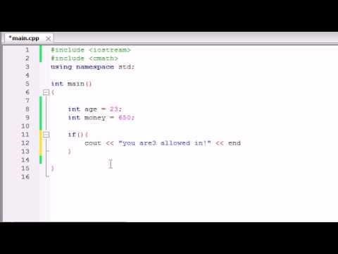Buckys C++ Programlama Rehberler - 26 - Mantıksal İşleçler