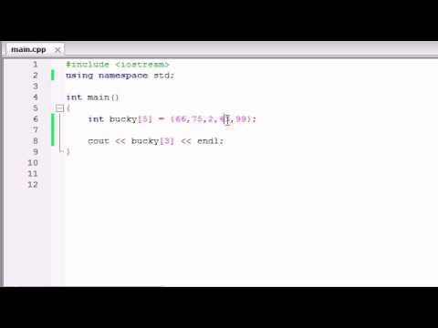 Buckys C++ Programlama Rehberler - 32 - Diziler