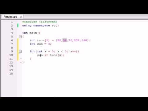 Buckys C++ Programlama Rehberler - 34 - Hesaplamalarda Dizileri Kullanma