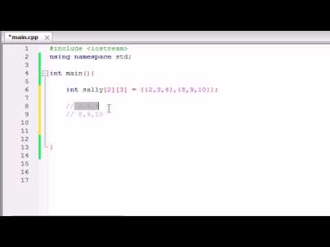 Buckys C++ Programlama Rehberler - 36 - Çok Boyutlu Diziler