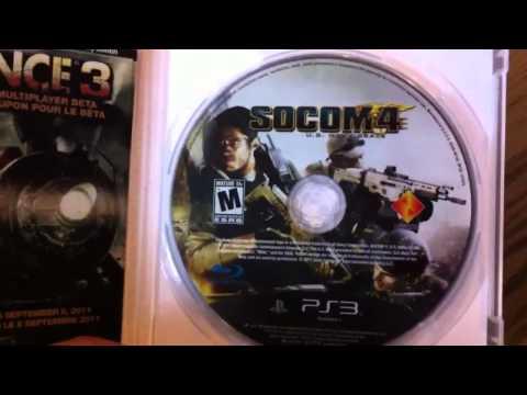 Ps3 - Socom 4 - Us Navy Seals Yayım Öncesi Unboxing!