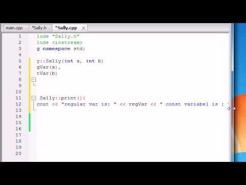 Buckys C++ Programlama Rehberler - 45 - Üye Başlatıcıları