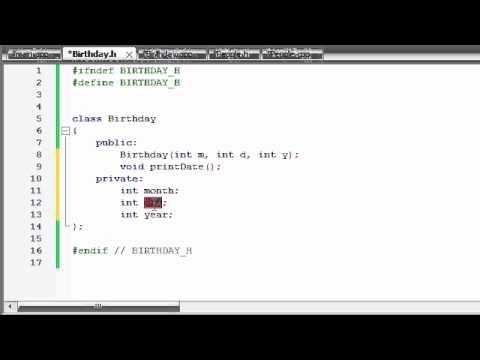 Buckys C++ Programlama Rehberler - 47 - Kompozisyon Bölüm 2
