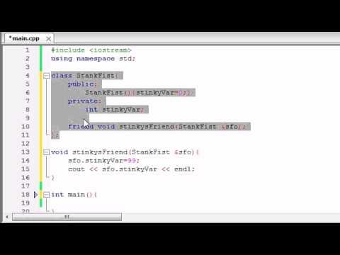 Buckys C++ Programlama Rehberler - 48 - Arkadaş
