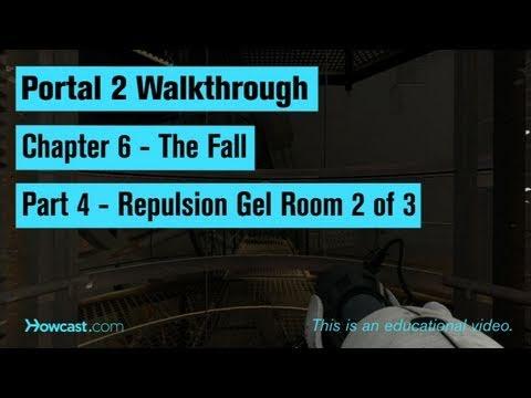 Portal 2 İzlenecek Yol / Bölüm 6 - Bölüm 4: Repulsion Jel 3 Oda 2
