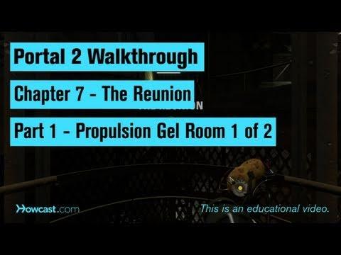 Portal 2 İzlenecek Yol / Bölüm 7 - Bölüm 1: Tahrik Oda 1 2 Jel