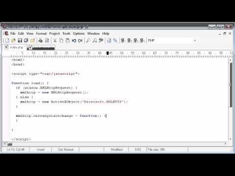 Acemi Php Dersleri - 173 - Bir Dıv Part 2 İçin Dosya İçeriğini Yükleme