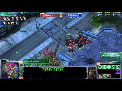 Spanishiwa Vs Cruncher - Pvz - Metalopolis - Starcraft 2