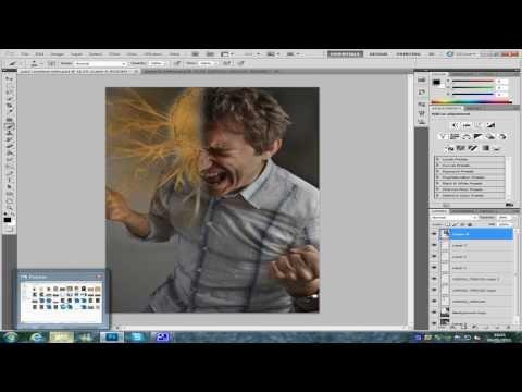 Photoshop Cs5 Kum Adam Öğretici Bölüm 2