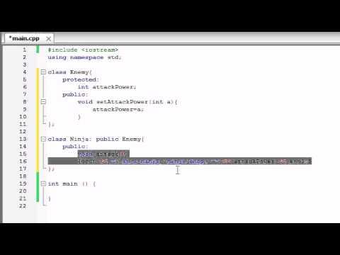 Buckys C++ Programlama Çok Biçimlilik Tutorials - 55 - Giriş