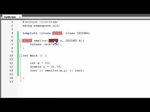 Buckys C++ Programlama Rehberler - 59 - İşlevi Birden Çok Parametre İle Şablonları