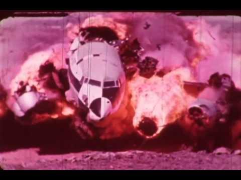 F-0452 Uçak Kaza Video: Kazasında Nakliye Güvenlik Test Bölüm 1