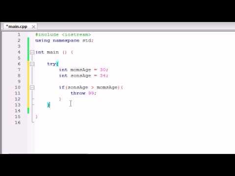 Buckys C++ Programlama Rehberler - 62 - Özel Durumlar