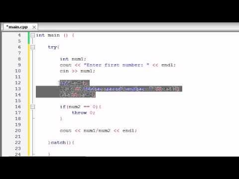 Buckys C++ Programlama Rehberler - 63 - Daha Fazla Özel Durumlar Örnek
