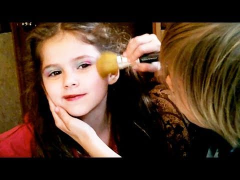 Güzellik Moda 8, Bir Renkli Gökkuşağı Makyaj İçin Çocuklara Emma Jonah Tarafından