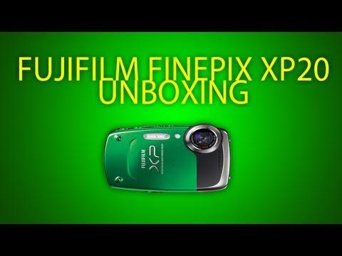 Unboxing: Fujifilm Finepix Xp20