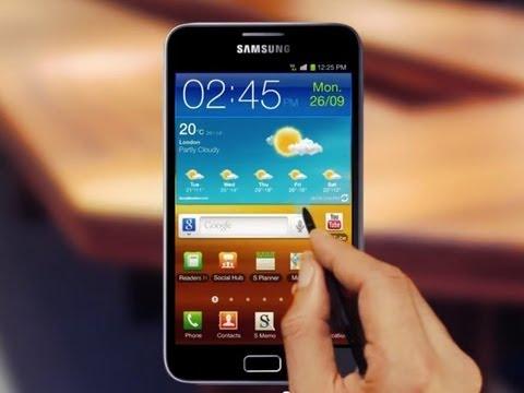 Samsung Galaxy Not 1 Gösterimler