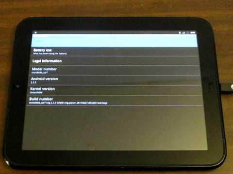 Android Adb Hp Touchpad Doğum Via Gezinme.