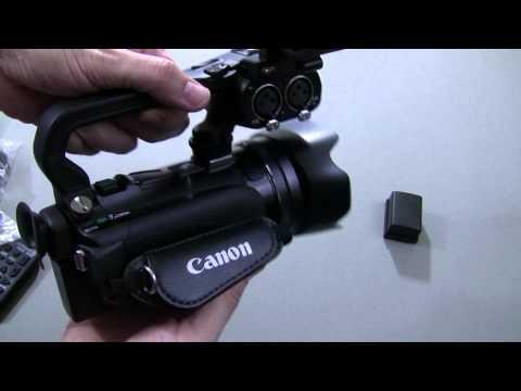 Canon Xa10 Hızlı Unboxing