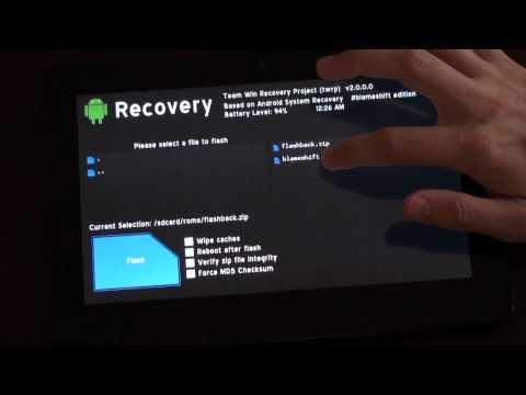 Android Merkez: Twrp 2.0 İlk Bakmak