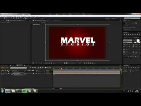 Cztutorıal - Sonra Etkileri 046 - Marvel Studios Logosu