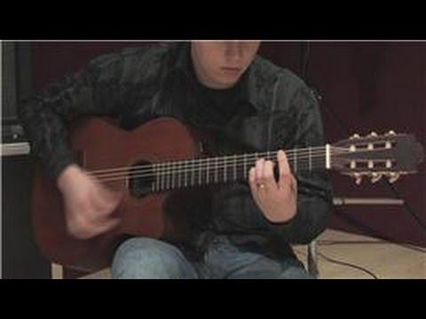 Gitar Dersleri: Acemi Klasik Gitar Dersleri: Tıngırdatmaya Chords Ritimleri
