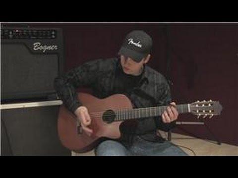 Gitar Dersleri: Acemi Klasik Gitar Dersleri: Tıngırdatmaya Ve Ritim