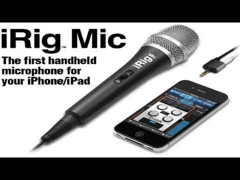 Unboxing/inceleme: İrig Mikrofon