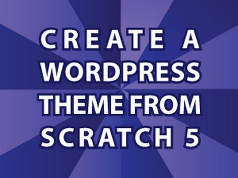 Bir Wordpress Tema 5 Oluşturma