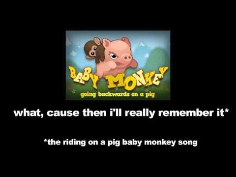 Bebek Maymun Bir Domuz Bir İpad Üzerinde