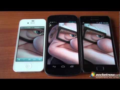 Samsung Galaxy Nexus 720P Gözden Geçirme Görüntülemek