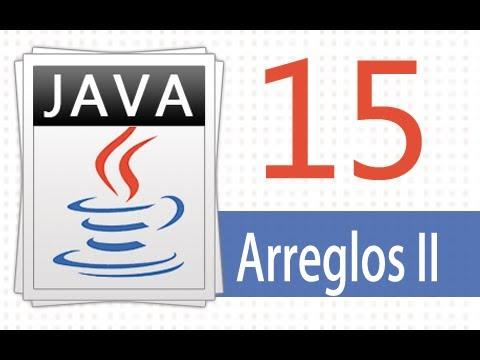 Öğretici Java - 15 - Arreglos Pt (2).