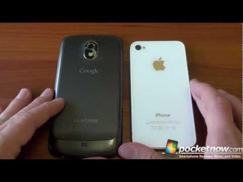 Samsung Galaxy Nexus Vs İphone 4S