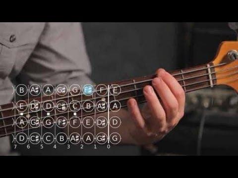 Nasıl Re Majör Üçlü   Bas Gitar İçin