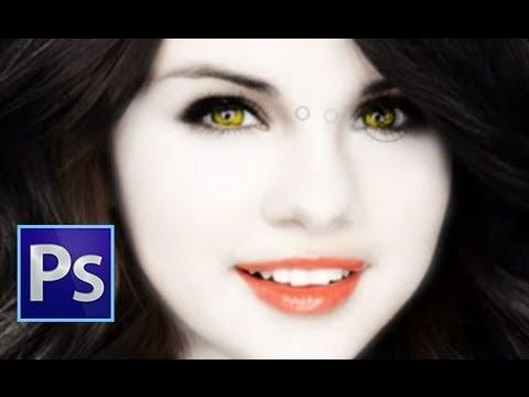 Photoshop: Vampir Dönüştürme [Selena Gomez)