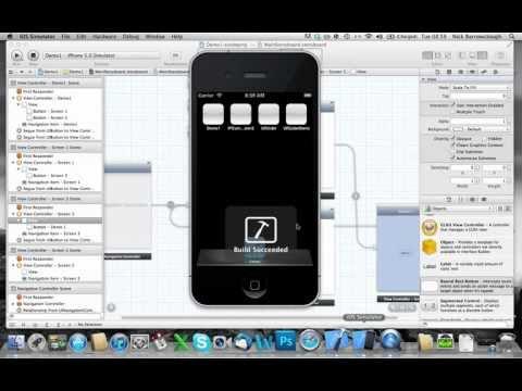 Xcode 4.2 Film Şeridi - Öğretici 1