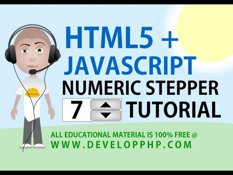 Html 5 Sayısal Step Öğretici Form Giriş Arayüzü İle Javascript İşleme