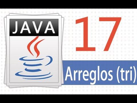 Öğretici Java - 17 - Arreglos Tridimensionales.