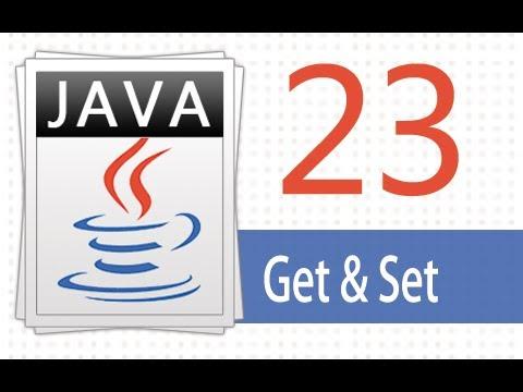 Öğretici Java - 23 - Almak Ve Ayarla.