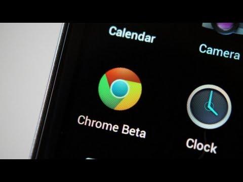 Android İçin Chrome Beta!