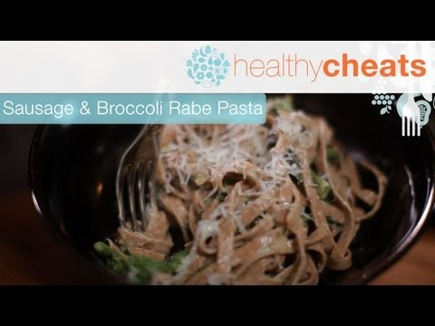 Sosis Ve Brokoli Rabe Makarna | Jennifer Iserloh İle Sağlıklı Hileler