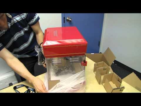 Cuisinart Eski Tyme Patlamış Mısır Makinesi Unboxing Ve İlk Göz Linus Tech İpuçları