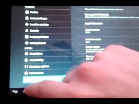 Cyanogenmod 9 Asus Transformer Prime Tf201 Üzerinde