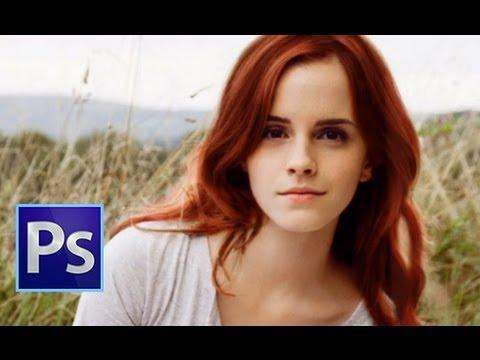 Photoshop |  Nasıl Saç Rengini Değiştirmek İçin | Öğreticiler